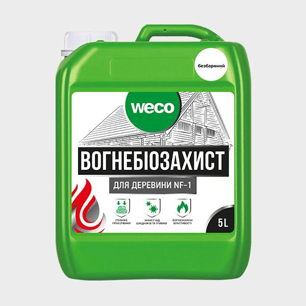 """ОГНЕБИОЗАЩИТА ДЛЯ ДРЕВЕСИНЫ """"NF-1"""" (Бесцветная)"""