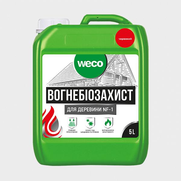 """ОГНЕБИОЗАЩИТА ДЛЯ ДРЕВЕСИНЫ """"NF-1"""" (Красная)"""